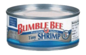 Bumble Bee Tiny Shrimp 4oz - Wilson Inmate Package Program