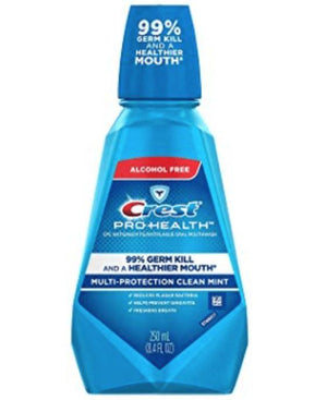 Crest Pro-Health Mouthwash, Clean Mint - Wilson Inmate Package Program