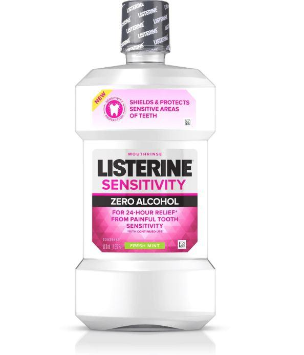 Listerine Sensitivity Mouthwash- Fresh Mint