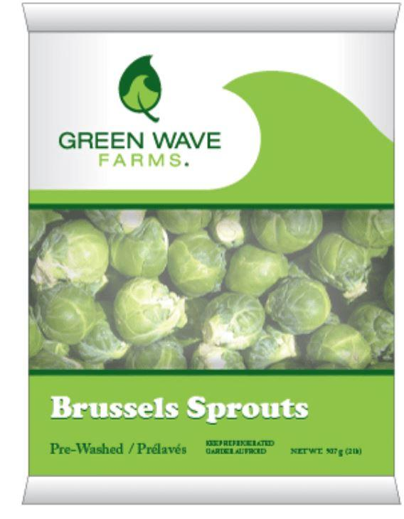 Fresh Brussels Sprouts 16oz Bag