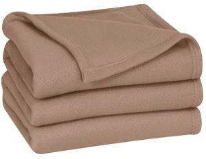 Heavy Weight Fleece Blanket Fire Retardant w/Label - Wilson Inmate Package Program