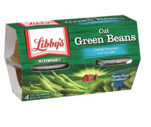 Libby's Green Bean Cuts 4pk 16oz - Wilson Inmate Package Program