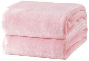 Flannel Fleece Fire Retardant Blanket (Pink) - Wilson Inmate Package Program