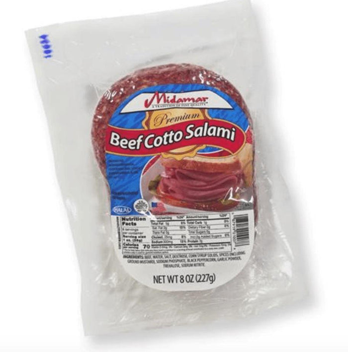 Halal Beef Cotto Salami 8oz