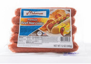 Halal Premium Beef Hot Links 12oz - Wilson Inmate Package Program