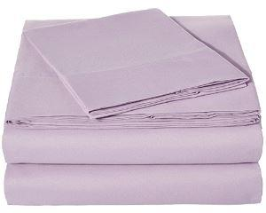 Microfiber Sheet Set - Twin (Frosted Lavender)