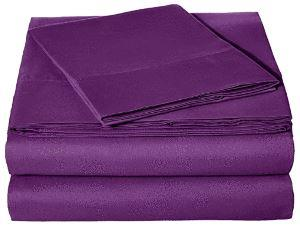 Microfiber Sheet Set - Twin (Plum/Purple)