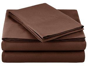 Microfiber Sheet Set - Twin (Chocolate)