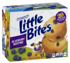 Entenmann's Blueberry Muffins 8.25oz
