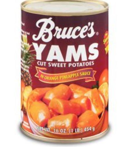 Bruce's Cut Sweet Potatoes Yams 16 oz
