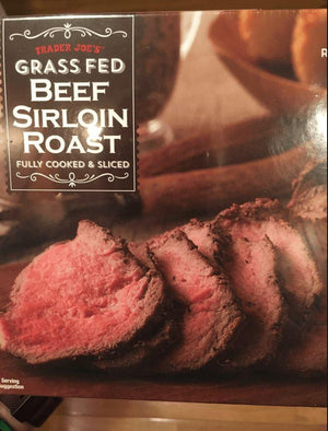 Grass Fed Roast Beef Sirloin Sliced 14oz - Wilson Inmate Package Program