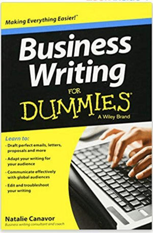Business Writing For Dummies - Wilson Inmate Package Program