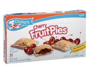 Drake's Cherry Fruit Pies 8 Count, 17.19oz