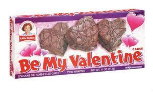 Little Debbie Be My Valentine Creme Filled Chocolate Cakes 10 ct, 11oz