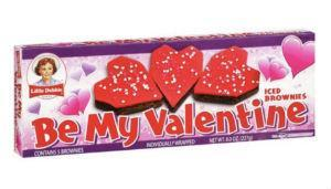 Little Debbie Snacks Be My Valentine Iced Brownies 5 Count, 8oz