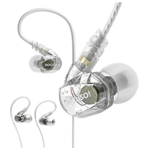 Waterproof Sport Earbuds (Clear)