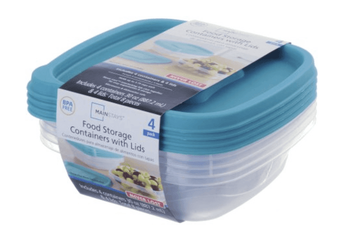 30 Oz Food Storage Containers with Lid, 1 count (Blue)