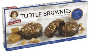 Little Debbie Turtle Brownies (12.39 oz. box/8 count)