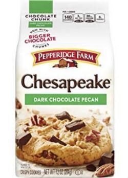 Chesapeake Dark Chocolate Pecan Cookies