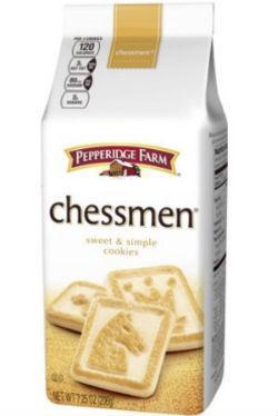 Chessmen Cookies