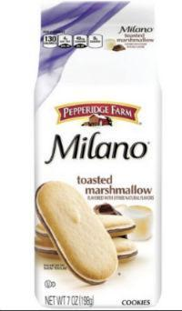 Milano Toasted Marshmallow Cookies