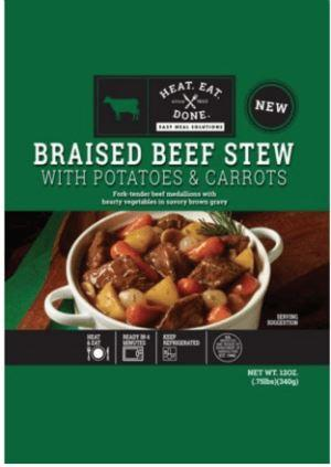 Braised Beef Stew w/ Potatoes & Carrots 12oz
