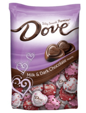 Dove Promises, Valentine's Heart Chocolate