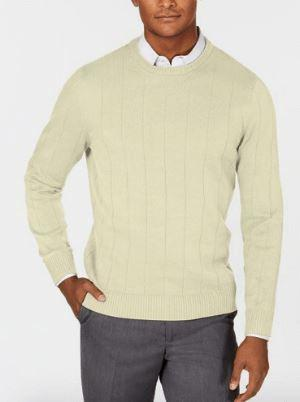 Men's Ribbed Sweater