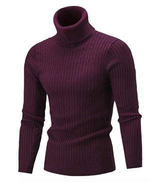 Men's Slim Fit Turtleneck  Sweaters