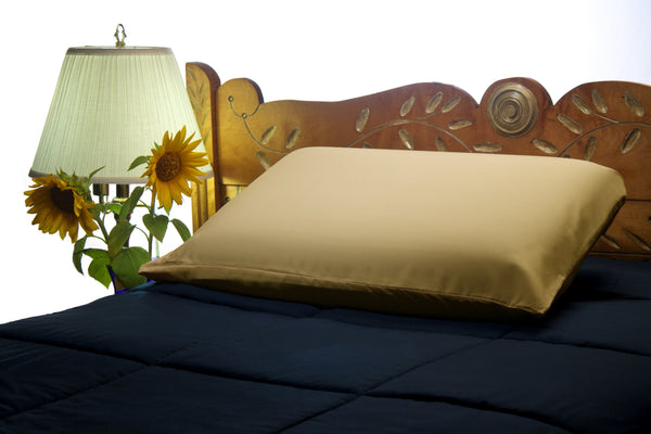 Gold Pillow Case Set