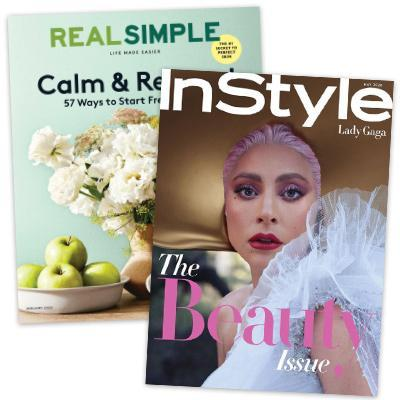 Real Simple + Instyle Combo