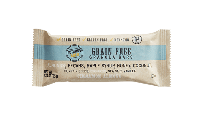 Autumn's Gold -  Cinnamon Almond - Grain Free Granola Bar - 1.24 oz