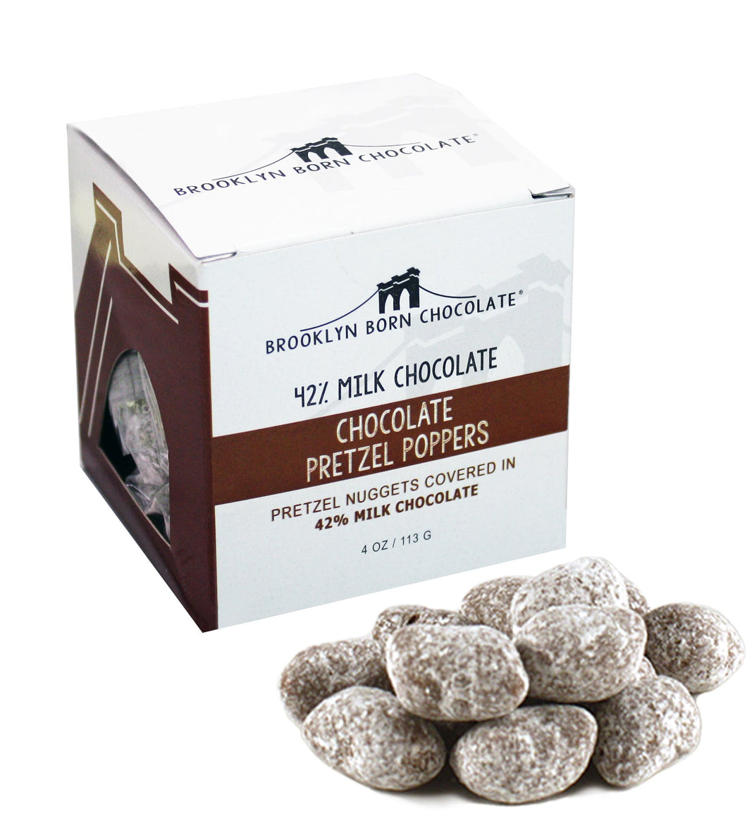 Brooklyn Born Chocolate - Chocolate Pretzel Poppers - 4 oz