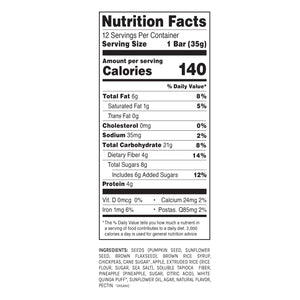 Blake's Seed Based - Seeds And Fruit Pineapple Snack Bar - 1.23 oz.