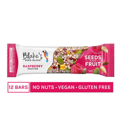 Blake's Seed Based - Seeds And Fruit Raspberry Snack Bar - 1.23 oz.