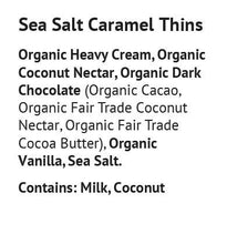 Load image into Gallery viewer, Blissfully Better - Sea Salt Caramel Thins - 1.6 oz.