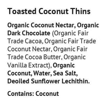 Load image into Gallery viewer, Blissfully Better - Toasted Coconut Thins - 1.6 oz.