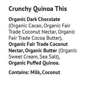 Blissfully Better - Crunchy Quinoa Toffee Thins - 1.6 oz