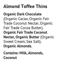 Load image into Gallery viewer, Blissfully Better - Almond Toffee Thins - 1.6 oz.