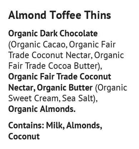 Blissfully Better - Almond Toffee Thins - 1.6 oz.