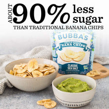 Load image into Gallery viewer, Bubba's Fine Foods - Classic Sea Salt 'Nana Chips - 2.7 oz.