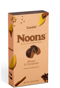 Candid Noons - Whole Cacao Crunch Bites - Mango & Cinnamon - 1.13 oz.