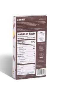 Candid Noons - Whole Cacao Crunch Bites - Pineapple & Coconut 1.3 oz.