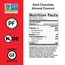 Load image into Gallery viewer, Caveman Paleo Nutrition Bar - Dark Chocolate Coconut Almond - 1.41 oz.