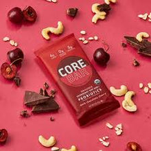 Load image into Gallery viewer, Core Organic Overnight Oat Bar - Dark Chocolate Cherry - 2 oz.