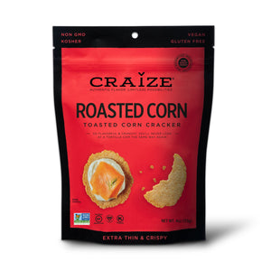 Craize Corn - Roasted Toasted Corn Cracker - 4 oz.