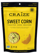 Load image into Gallery viewer, Craize Corn - Sweet Corn Crackers - 1.75 oz.