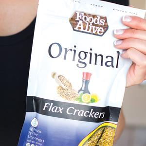 Foods Alive Flax Crackers - Original - 4 oz.
