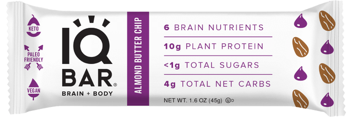 IQ Bar - Almond Butter Chip - 1.6 oz
