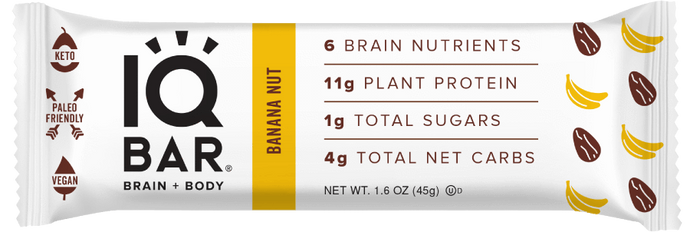IQ Bar - Banana Nut - 1.6 oz